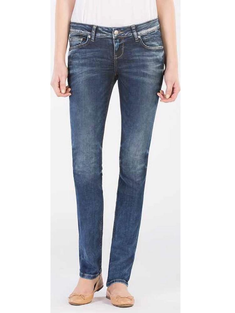ltb damen jeans aspen slim straight blue lapis wash ebay. Black Bedroom Furniture Sets. Home Design Ideas