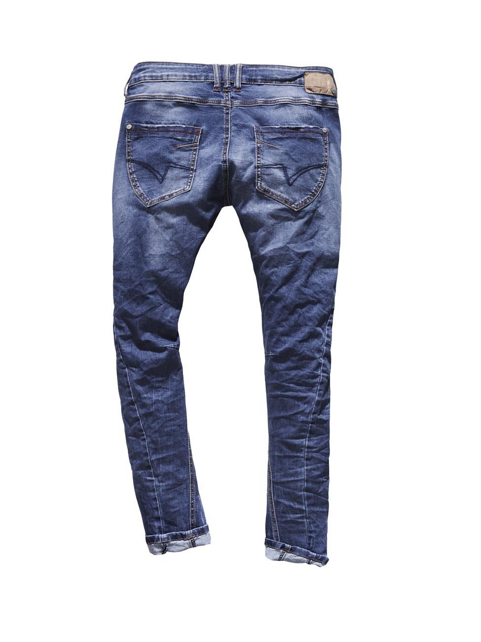 timezone damen jeans rivatz 16 5489 slim fit shell blue wash ebay. Black Bedroom Furniture Sets. Home Design Ideas