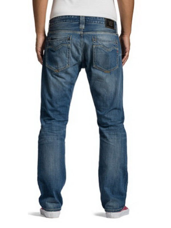 replay herren jeans newbill m955 606 308 regular fit. Black Bedroom Furniture Sets. Home Design Ideas