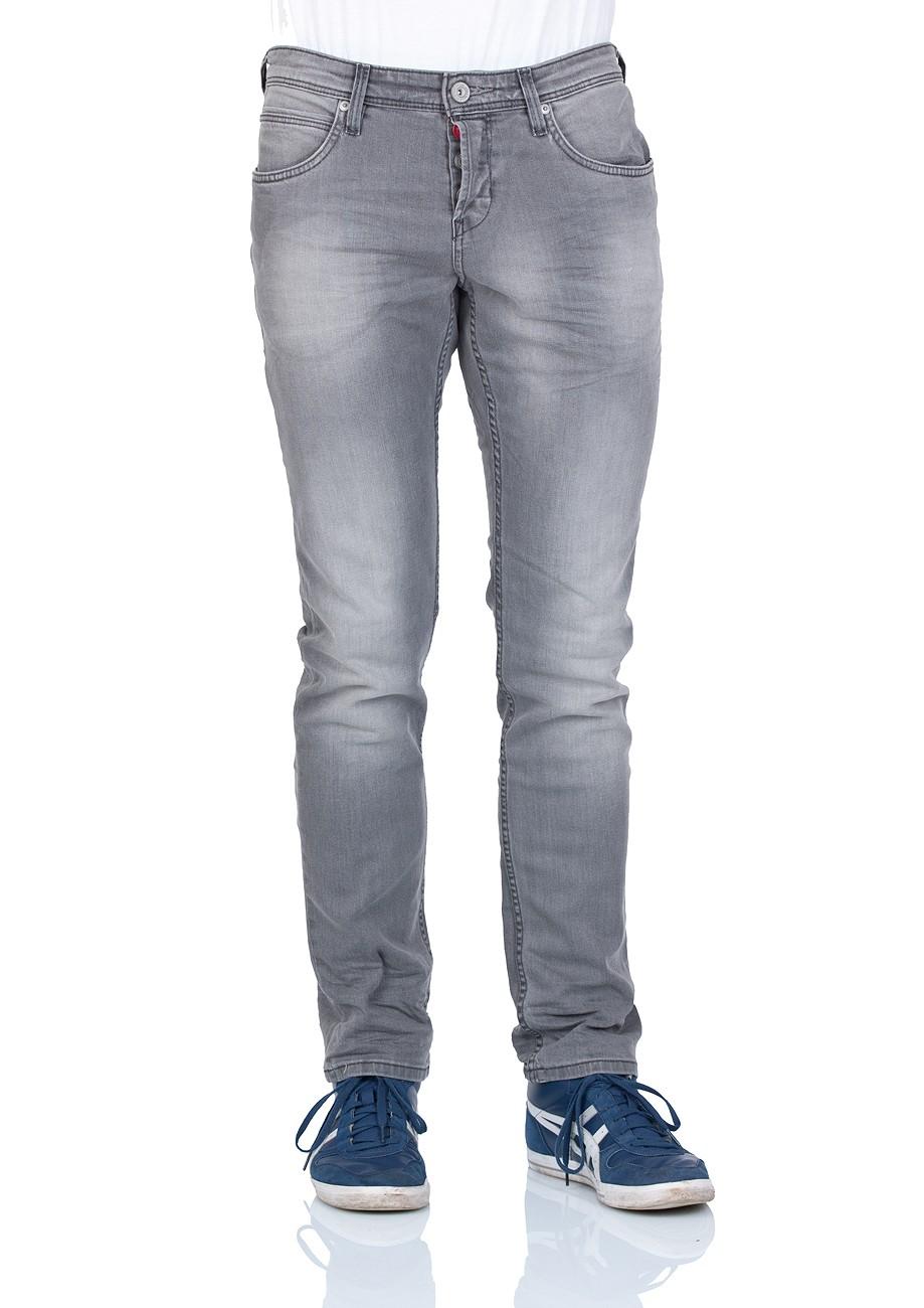 tom tailor denim herren jeans aedan slim fit grey denim ebay. Black Bedroom Furniture Sets. Home Design Ideas