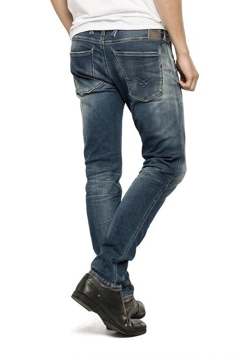 replay hyperflex herren jeans anbass m914 661 523 slim fit. Black Bedroom Furniture Sets. Home Design Ideas