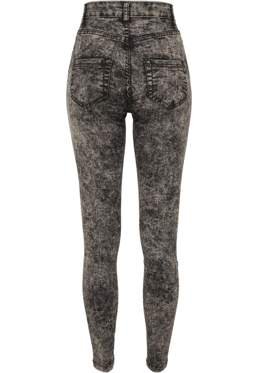 urban classics damen high waist denim skinny pants kaufen. Black Bedroom Furniture Sets. Home Design Ideas