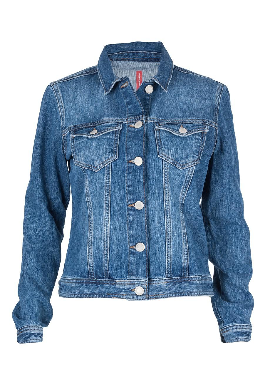 cross damen jeansjacke blue used kaufen jeans direct de. Black Bedroom Furniture Sets. Home Design Ideas