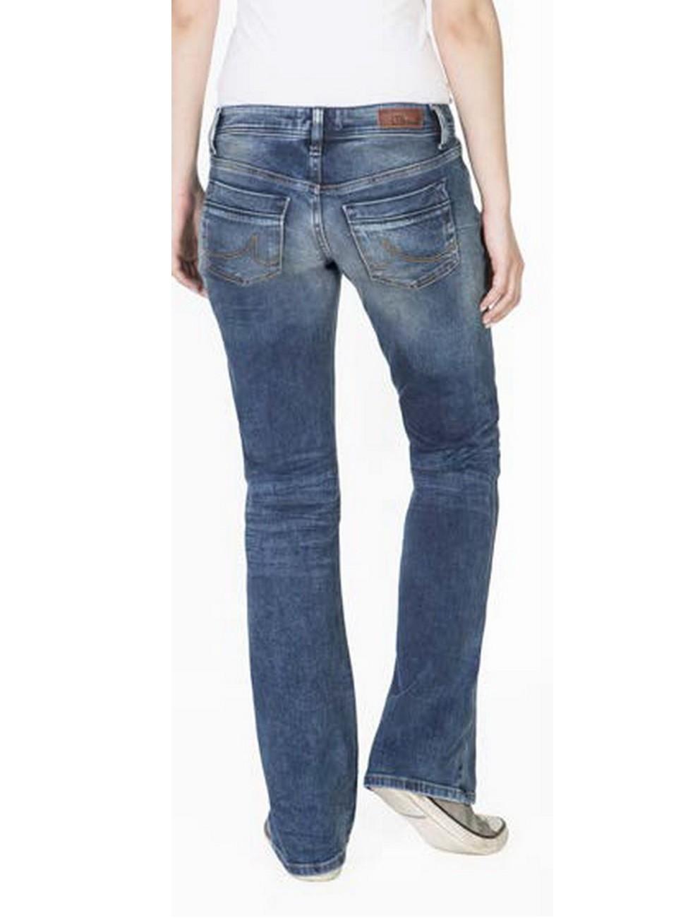 ltb damen jeans valerie bootcut roswell wash ebay. Black Bedroom Furniture Sets. Home Design Ideas