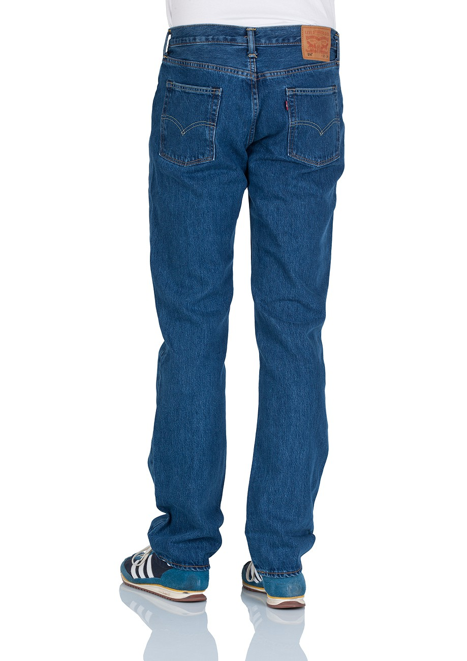 levi 39 s herren jeans 514 slim fit stonewash kaufen jeans direct de. Black Bedroom Furniture Sets. Home Design Ideas