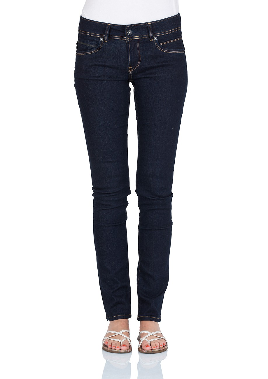 pepe jeans damen jeans pl200019m15 new brooke slim fit rinse plus. Black Bedroom Furniture Sets. Home Design Ideas