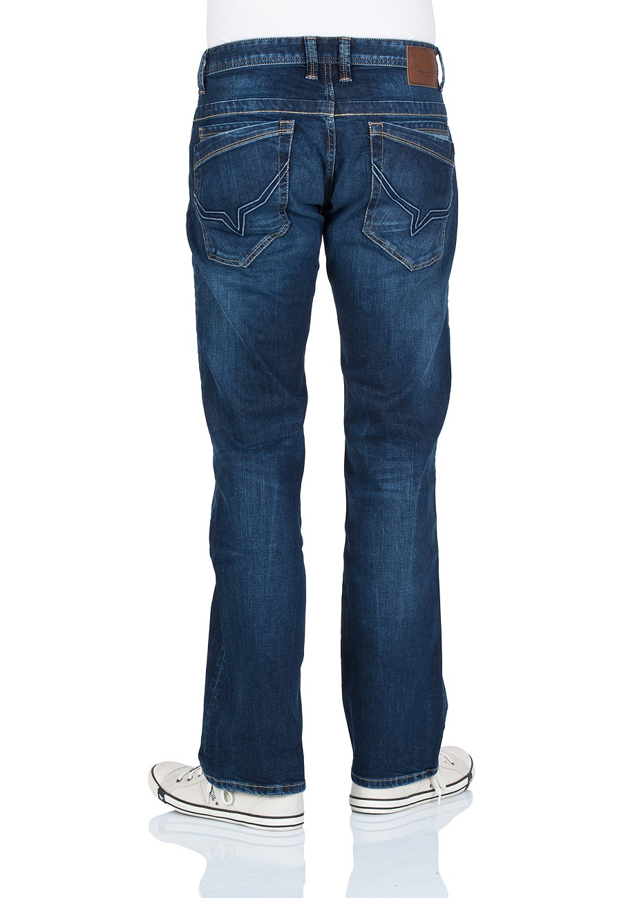 pepe jeans herren jeans jeanius comfort fit streaky stretch dk kaufen jeans direct de. Black Bedroom Furniture Sets. Home Design Ideas