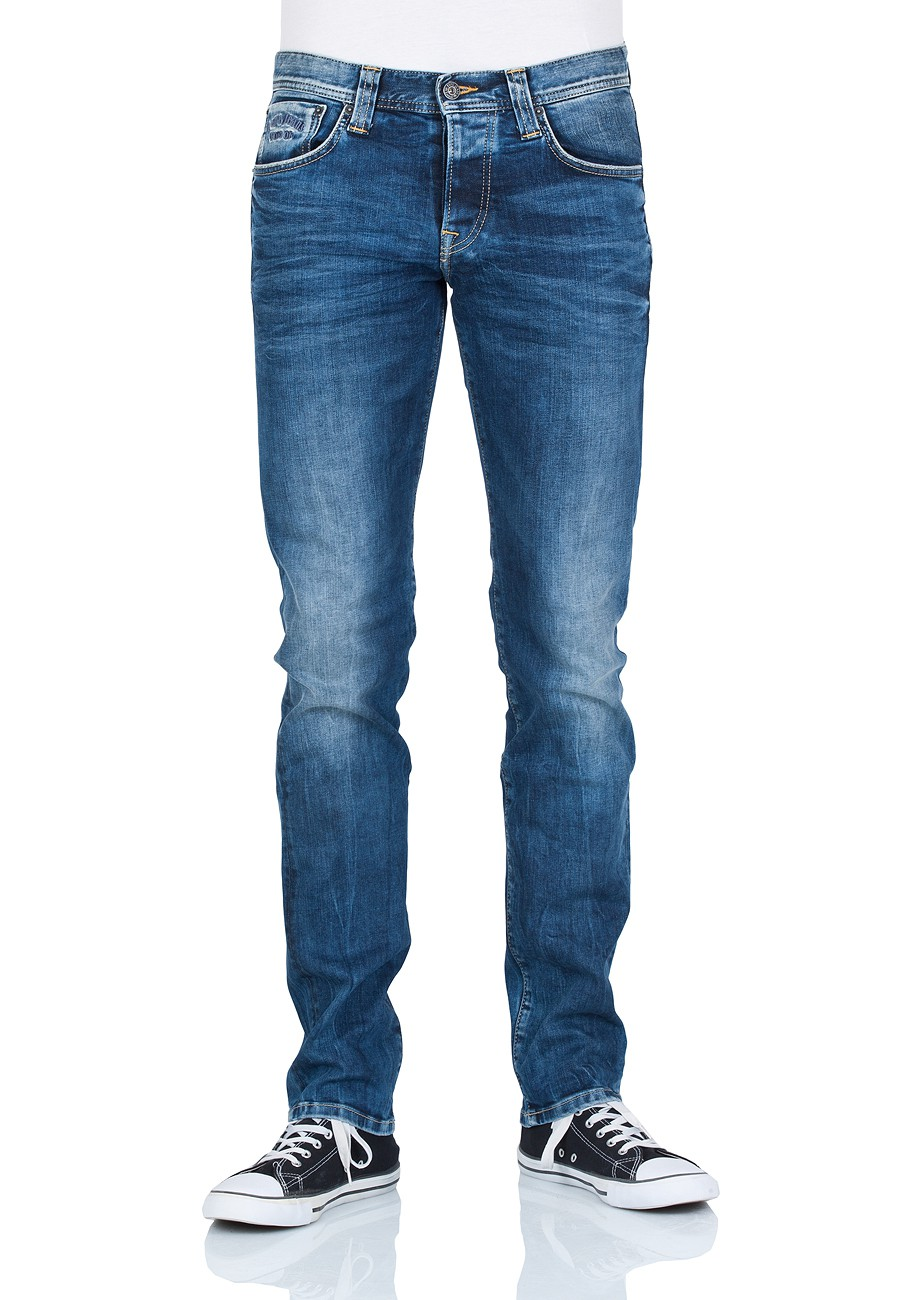 pepe jeans herren jeans pm200072z23 cane slim fit streaky stretch med. Black Bedroom Furniture Sets. Home Design Ideas