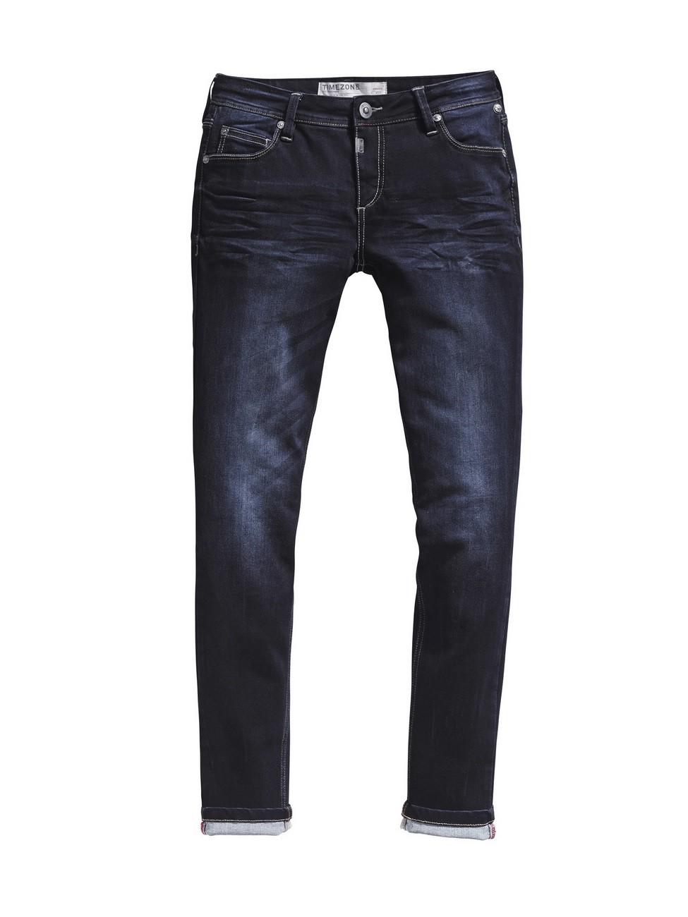 timezone damen jeans aleenatz tight fit noble blue wash kaufen jeans direct de. Black Bedroom Furniture Sets. Home Design Ideas