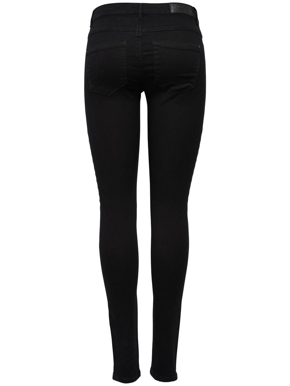 only damen biker jeans onlroyal schwarz kaufen jeans direct de. Black Bedroom Furniture Sets. Home Design Ideas