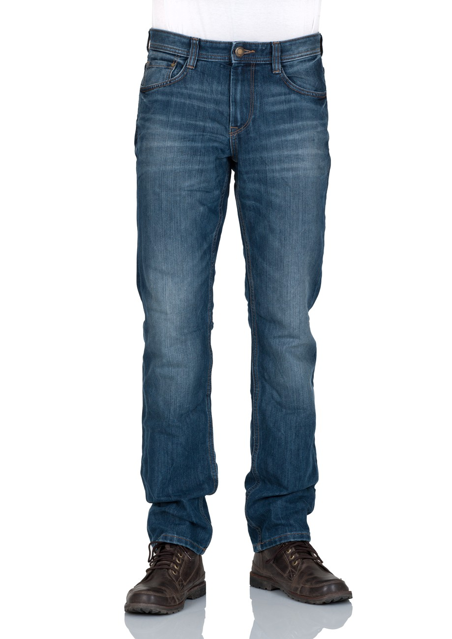 tom tailor herren jeans marvin straight fit blau mid stone wash denim kaufen jeans direct de. Black Bedroom Furniture Sets. Home Design Ideas