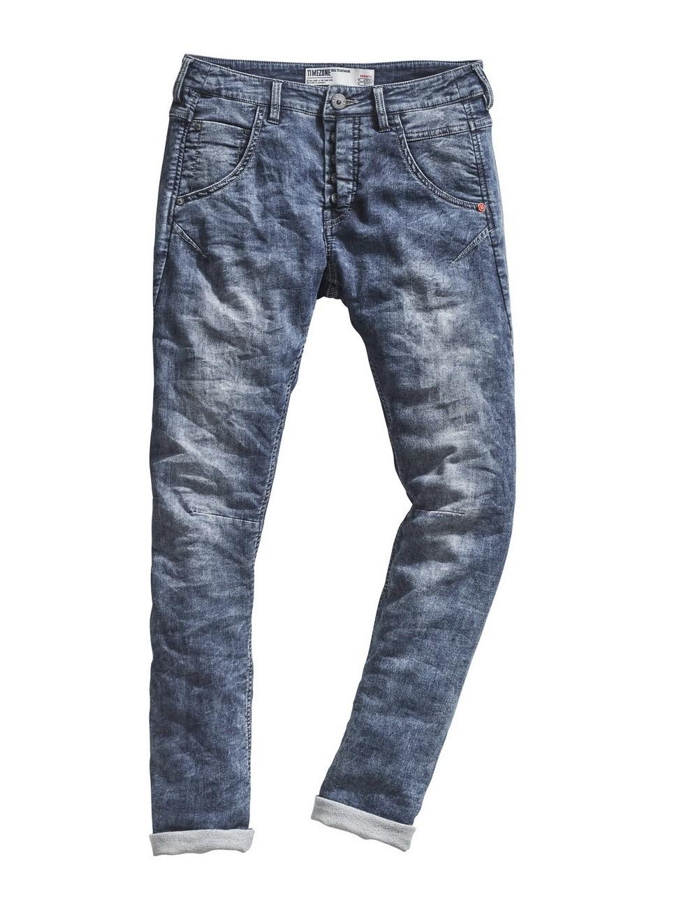 timezone damen jeans rivatz slim fit blau daily wash. Black Bedroom Furniture Sets. Home Design Ideas