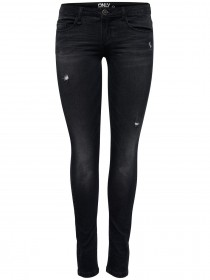 Only Damen Jeans onlCORAL - Skinny Fit - Black