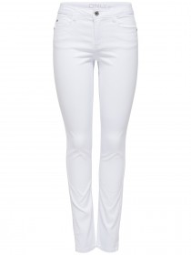 Only Damen Jeans onlULTIMATE - Slim Fit - Weiß - White