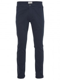 Shine Original Herren Stretch Chino Hose - Straight Fit - Blau - Navy