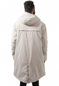 Urban Classics Herren Jacke Cotton Peached Canvas Parka