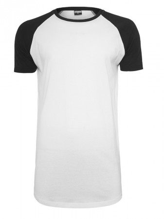 Urban Classics Herren Shaped Raglan Long T-Shirt