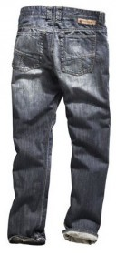 Timezone Herren Jeans CoastTZ - Regular Fit - Circuit Wash
