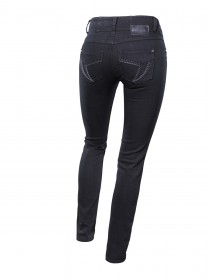 Timezone Damen Jeans Bella Body - Slim Fit - Schwarz