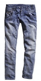 Timezone Jeans Harold 26-5469-3547 Regular Fit silver blue wash