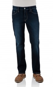Mustang Herren Jeans Big Sur Stretch - Regular Fit - Old Stone Used