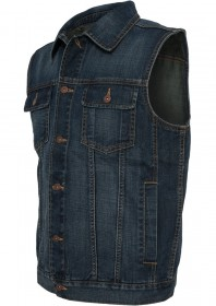 Urban Classics Herren Denim Weste - Regular Fit