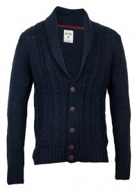 Tom Tailor Denim Herren Strickjacke - Nepp Shawl Collar Cardigan