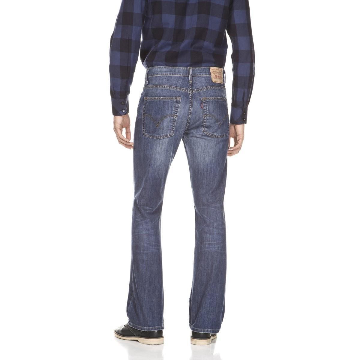 levi 39 s herren jeans 527 low bootcut blau kaufen. Black Bedroom Furniture Sets. Home Design Ideas