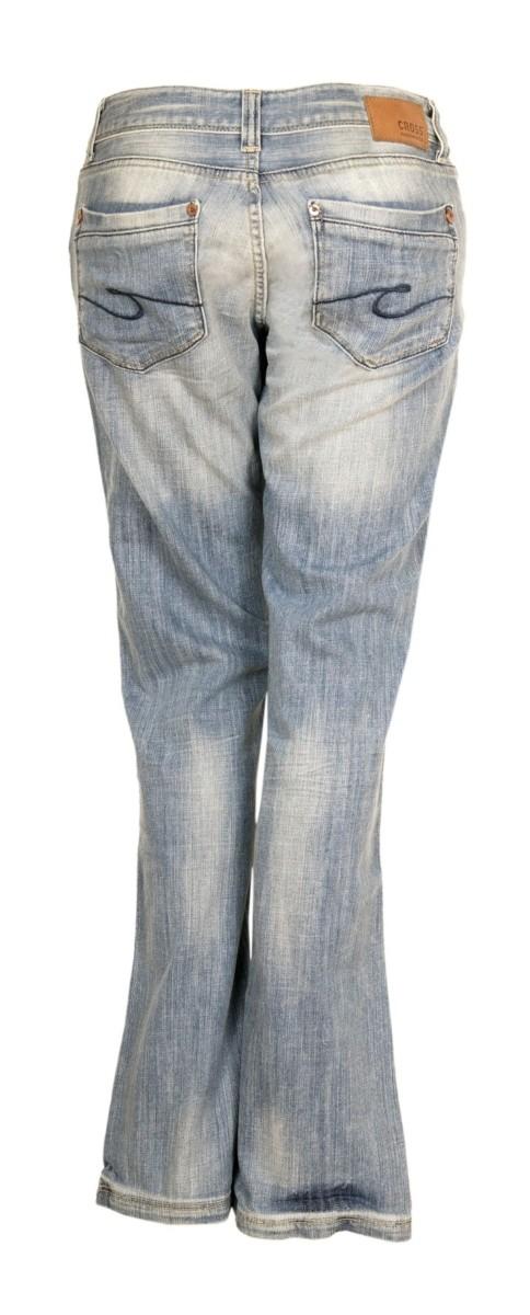 cross damen jeans laura bootcut light stone used kaufen. Black Bedroom Furniture Sets. Home Design Ideas