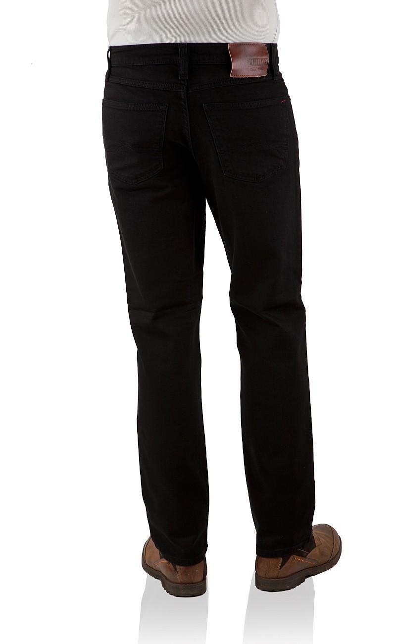 mustang jeans big sur stretch regular fit midnight black neu ebay. Black Bedroom Furniture Sets. Home Design Ideas