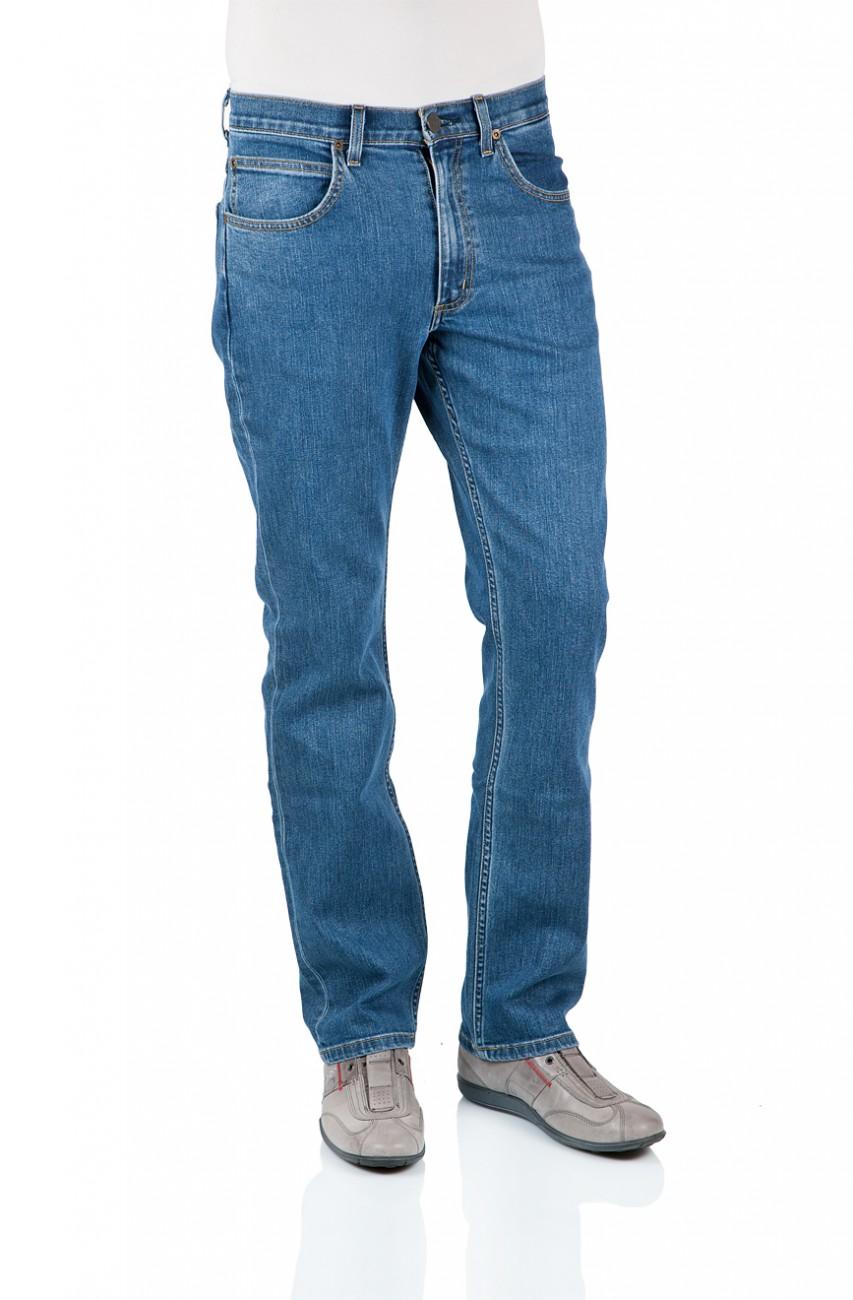 lee herren jeans brooklyn straight l45271kx regular fit mid stonewash. Black Bedroom Furniture Sets. Home Design Ideas
