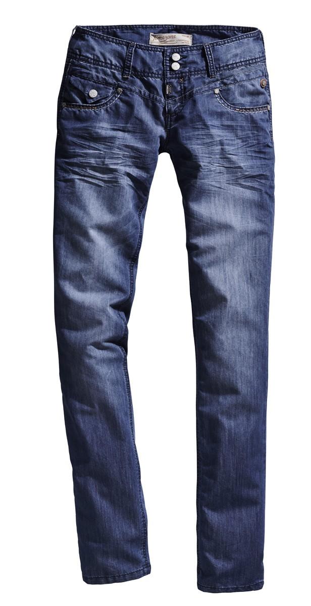 timezone damen jeans britt tz 16 5414 3214 3210 regular fit straight royal blue ebay. Black Bedroom Furniture Sets. Home Design Ideas