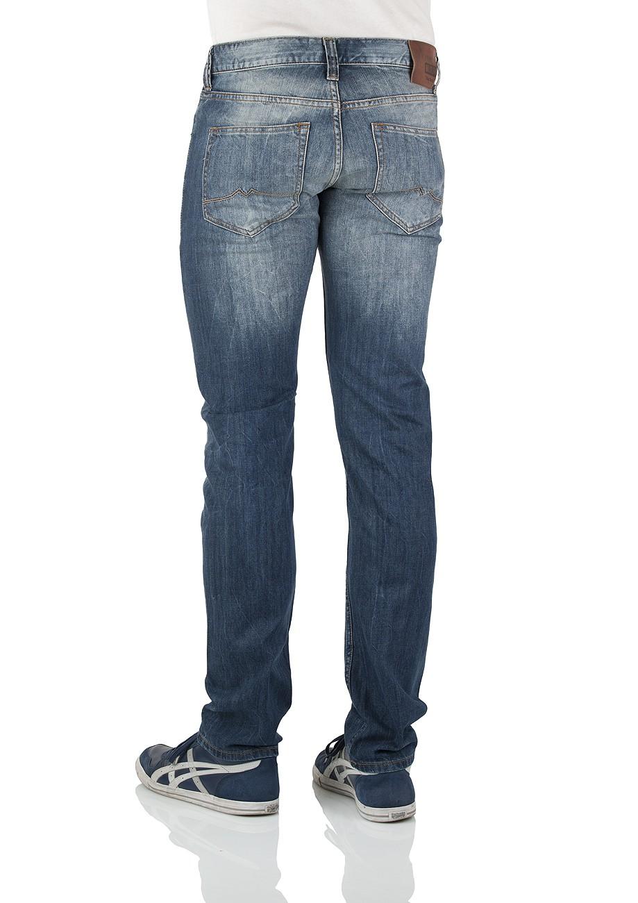 mustang herren jeans oregon tapered 3116 5107 535 slim fit strong bleach neu ebay. Black Bedroom Furniture Sets. Home Design Ideas