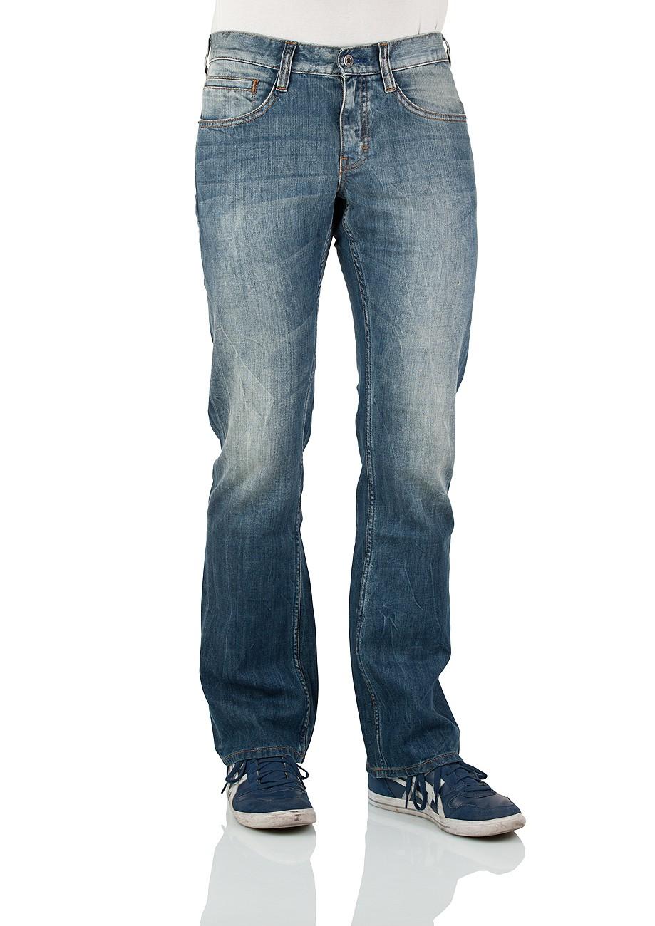 mustang herren jeans oregon 3117 5177 535 bootcut strong. Black Bedroom Furniture Sets. Home Design Ideas
