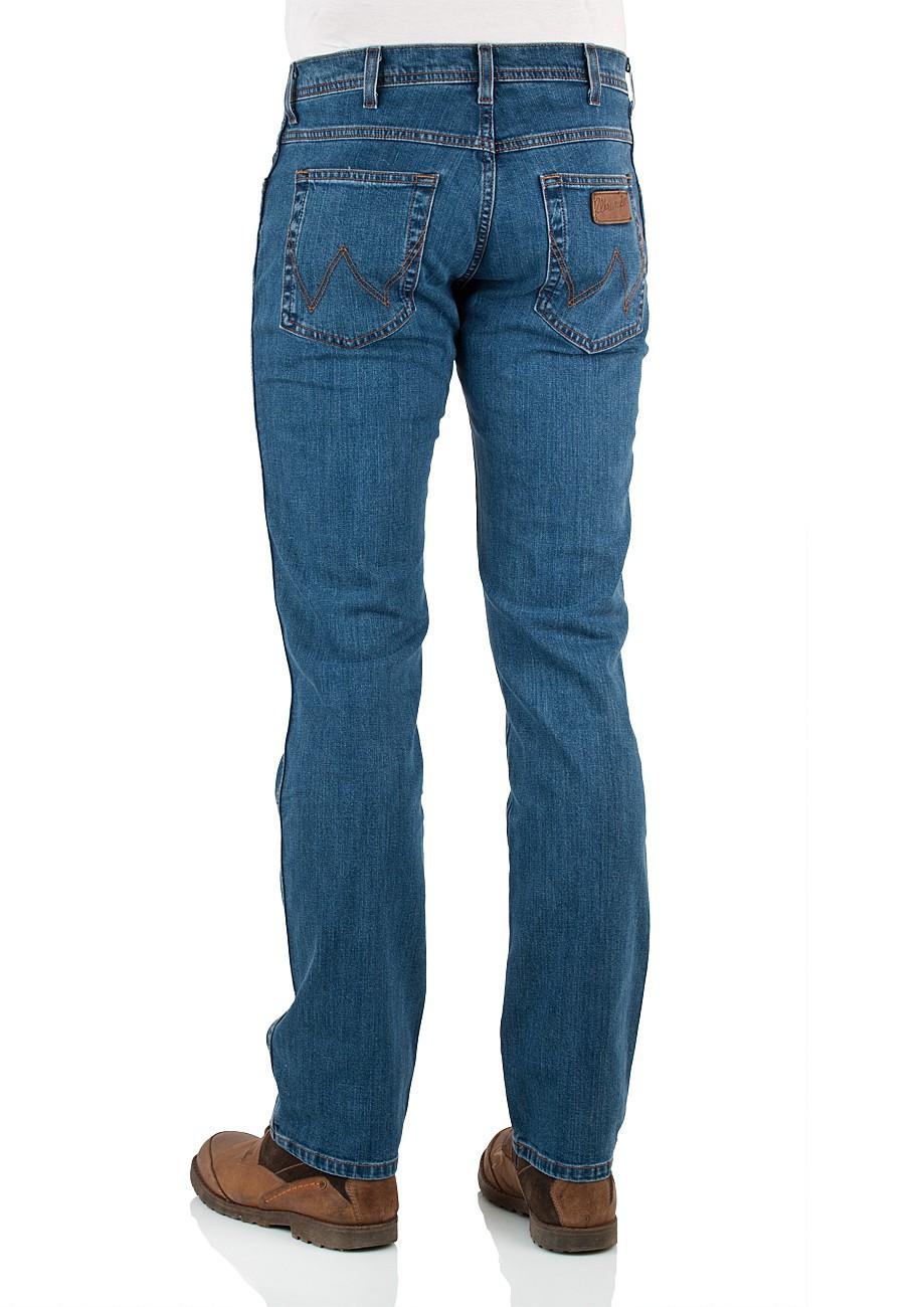wrangler jeans arizona stretch w12oxg010 straight fit straight leg stonewash ebay. Black Bedroom Furniture Sets. Home Design Ideas