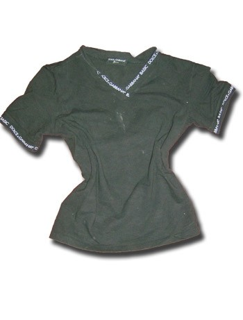 DOLCE & GABBANA T-Shirt schwarz