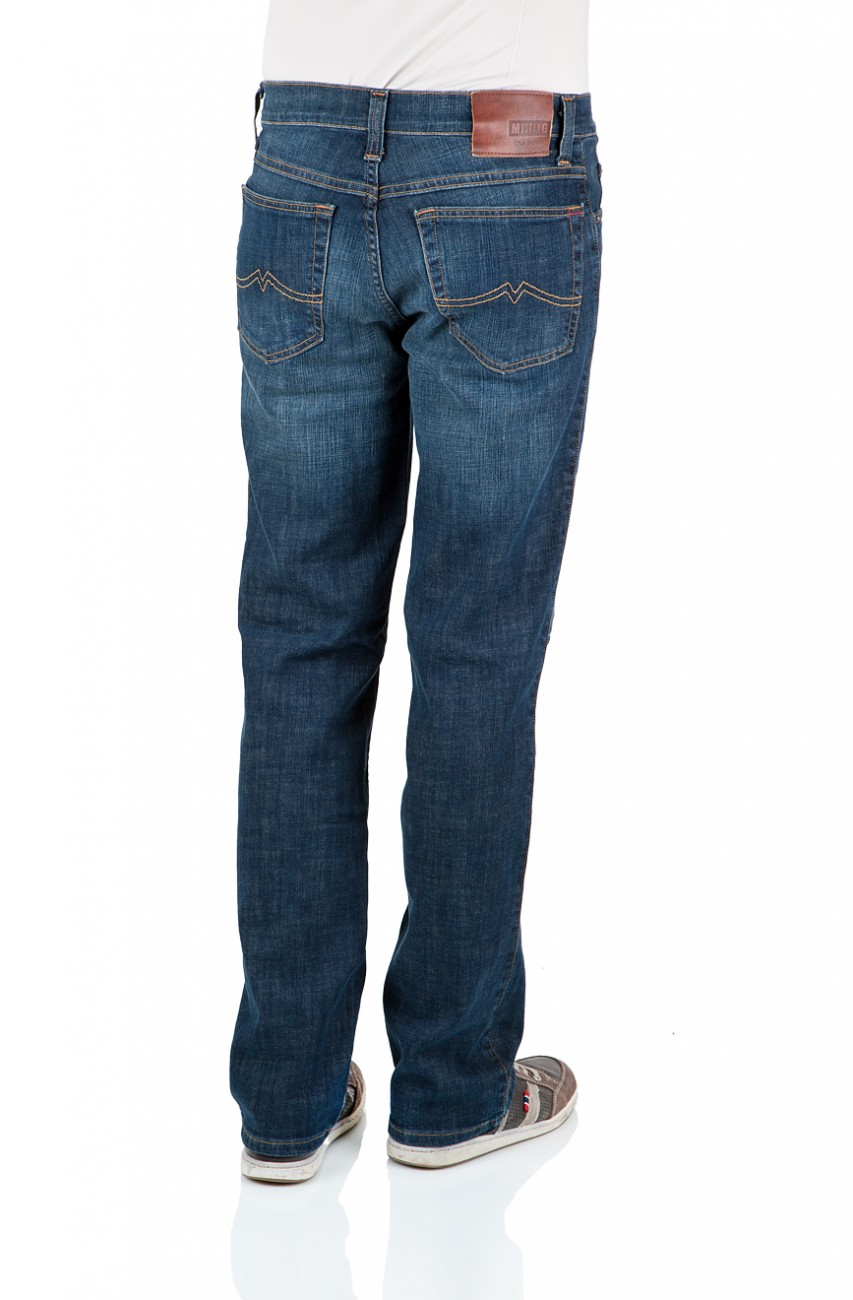 Mustang Jeans Tramper Stretch - Slim Fit - Old Brushed
