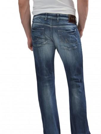 ltb herren jeans tinman bootcut dark blue used wash neu. Black Bedroom Furniture Sets. Home Design Ideas