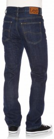 Bild 2 - Lee Herren Jeans Brooklyn - Straight Fit - Dark Stonewash