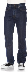 Bild 1 - Lee Herren Jeans Brooklyn - Straight Fit - Dark Stonewash