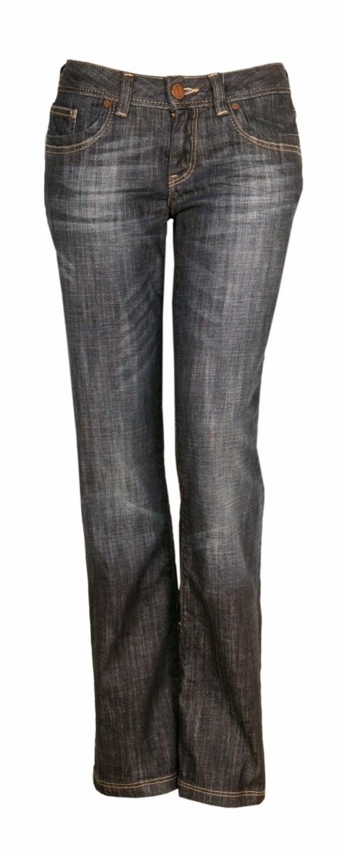 Cross Damen Jeans Laura H480 Bootcut deep blue ...