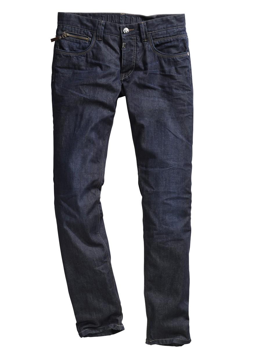 Timezone Herren Jeans Kiele - Slim Fit - Blau
