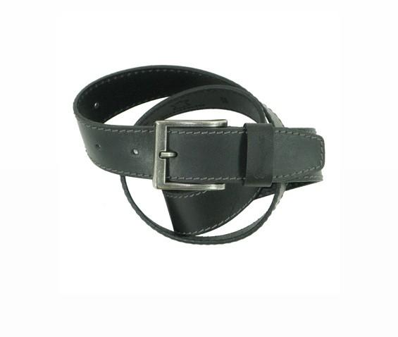Wrangler Leder Gürtel - Basic Stitched - Loop