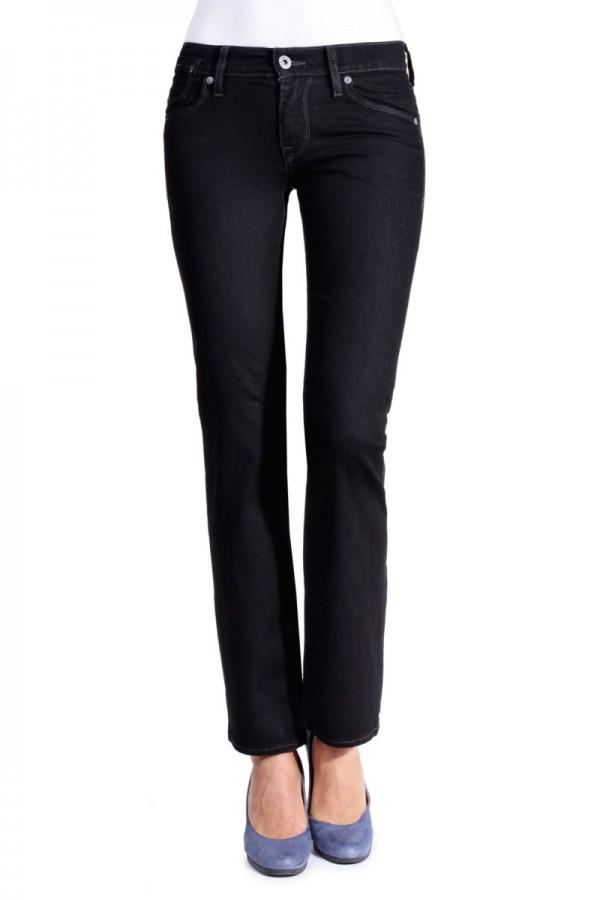 Mustang Jeans Girls Oregon Straight Fit midnight black L 30 - L 32 W 34 L 32, midnight black (490)