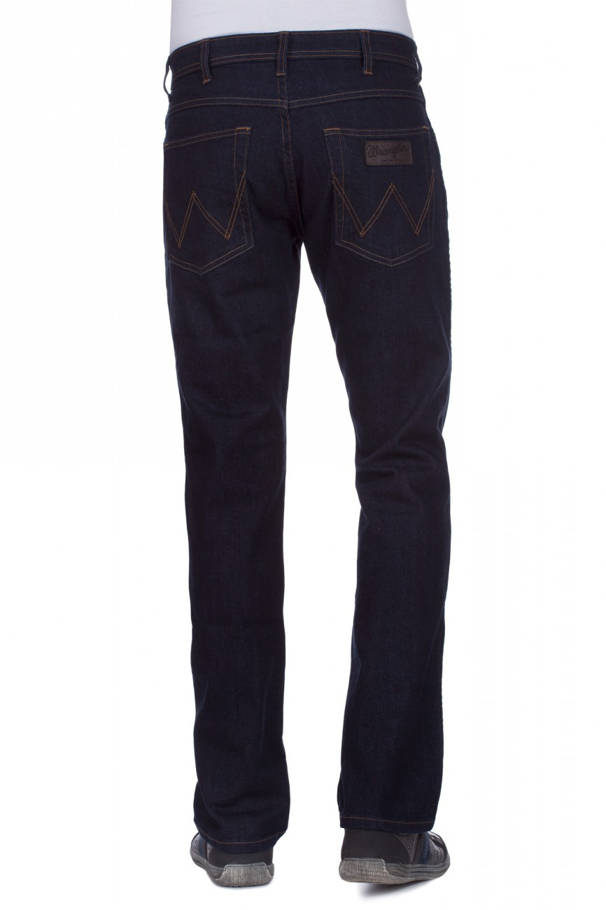 Wrangler Herren Jeans Arizona Stretch - Straight Fit - Rinsewash
