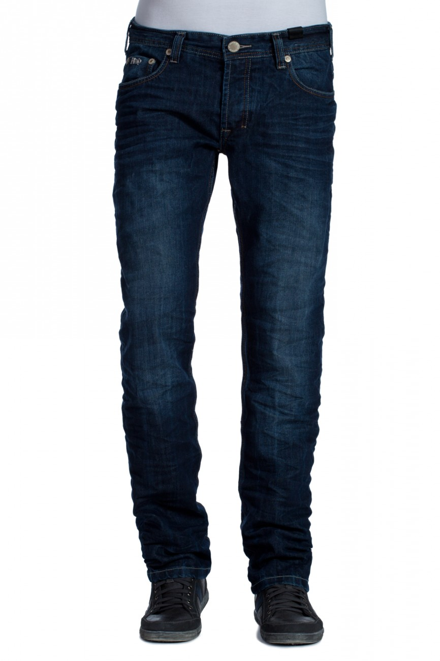 MOD Herren Jeans Thomas Classic Fit - Straight Leg - Windsor Blue