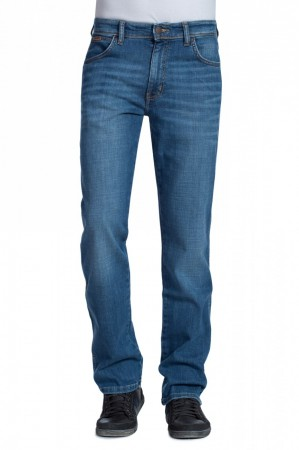 Wrangler Herren Jeans Texas Stretch - Regular Fit - Worn Broke