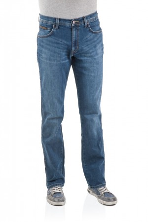 Wrangler Herren Jeans Arizona Stretch - Straight Fit - Burnt Blue