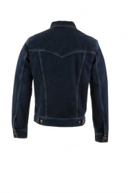 Wrangler Herren Jeansjacke Authentic - Blue Black