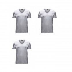 Jack & Jones Herren V-Neck T-Shirt Basic - 3er Pack